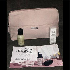 Philosophy- MakeUp Bag w/ gifts